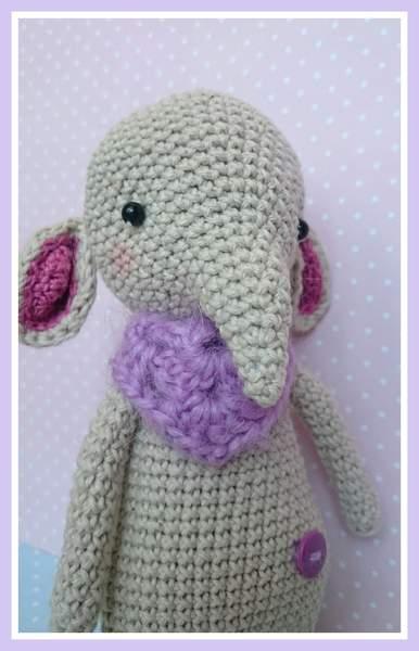 Najnovší prírastok 😘 sloníča Nina - LucyN - Crochet toys made ... | 600x386